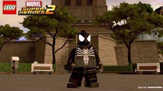 Lego Marvel superheroes 2  Spider-Man Symbiote - Unlocked