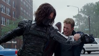Captain America Fight Moves Compilation | Civil War included in 1080p Full HD