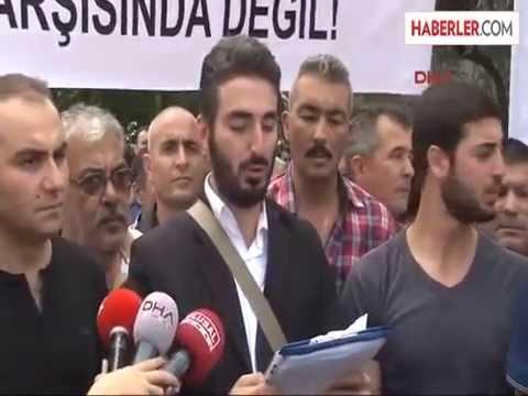 Bağcılar Belediyesi Önünde 'Riskli Alan' Protestosu Haberler com