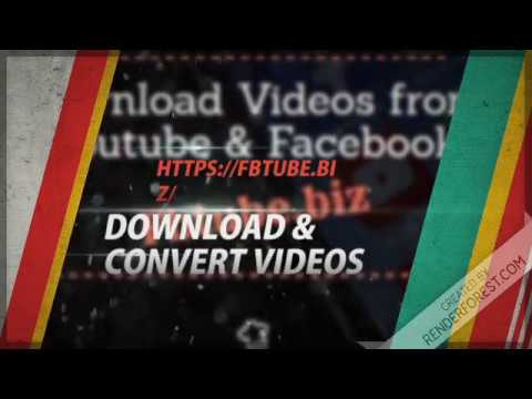 Download & Convert YouTube Facebook Videos To MP3(Audio)