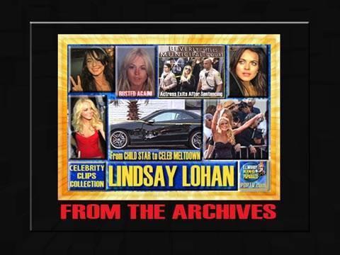 LINDSAY LOHAN TRAINWRECK REEL : PAPARAZZI CHRONICLES
