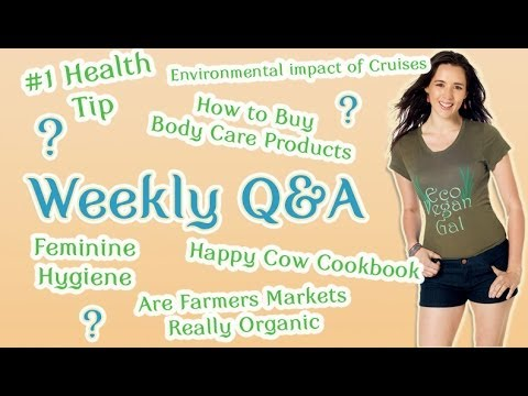 My #1 Health Tip, Happy Cows, Feminine Hygiene, Body Care + More
