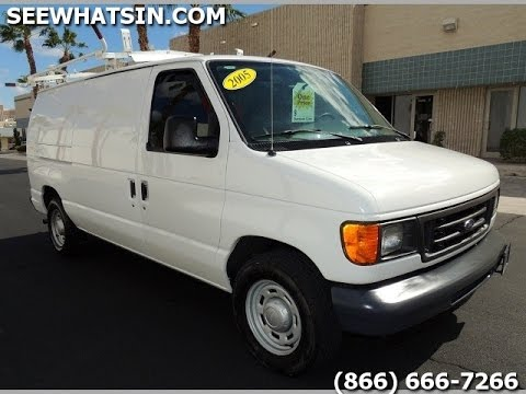 2005 Ford E150 Cargo Van 60 Cargo Vans Seewhatsin Com Only 85k Miles Like New