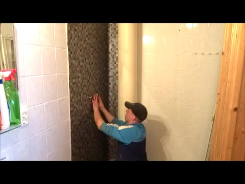 Wand in der Dusche neu verkleben Teil 3 die Zeit der Fliesen ist vorbei  YouTube