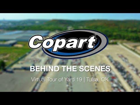 Copart Behind the Scenes – Virtual Tour of Yard 19 | Tulsa, OK