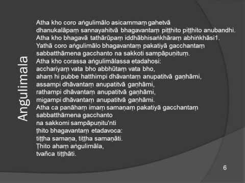 Angulimala Piritha - dhamma.ifbcnet.org