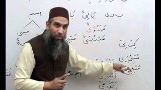 Arabic Grammar( advanced level)Lecture 10-Part(1)عربی گرامر کلاسس