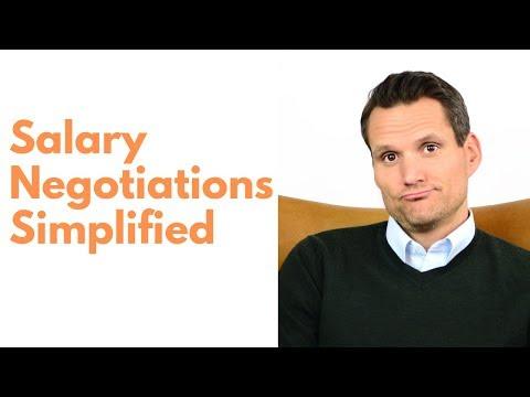 Salary Negotiations Simplified
