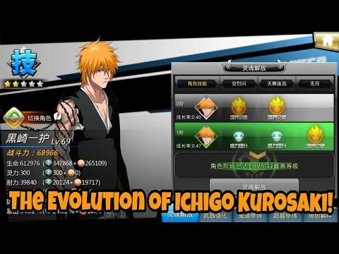 The Evolution of Ichigo Kurosaki! - Bleach Death Awakening