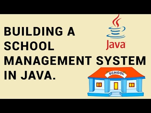 Build your first OOP application in Java with example - Building a School Management System