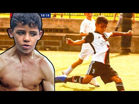 CRISTIANO RONALDO JR is a MACHINE! HERE is WHY!