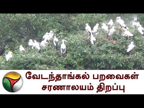 வேடந்தாங்கல் பறவைகள் சரணாலயம் திறப்பு | Vedanthangal