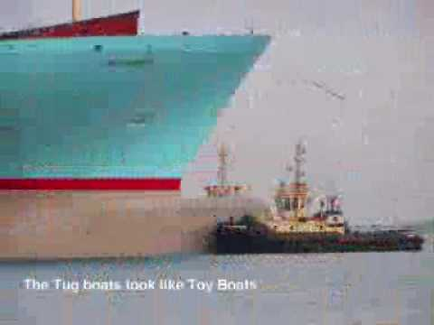 La nave container pi grande del mondo youtube for La villa piu grande del mondo