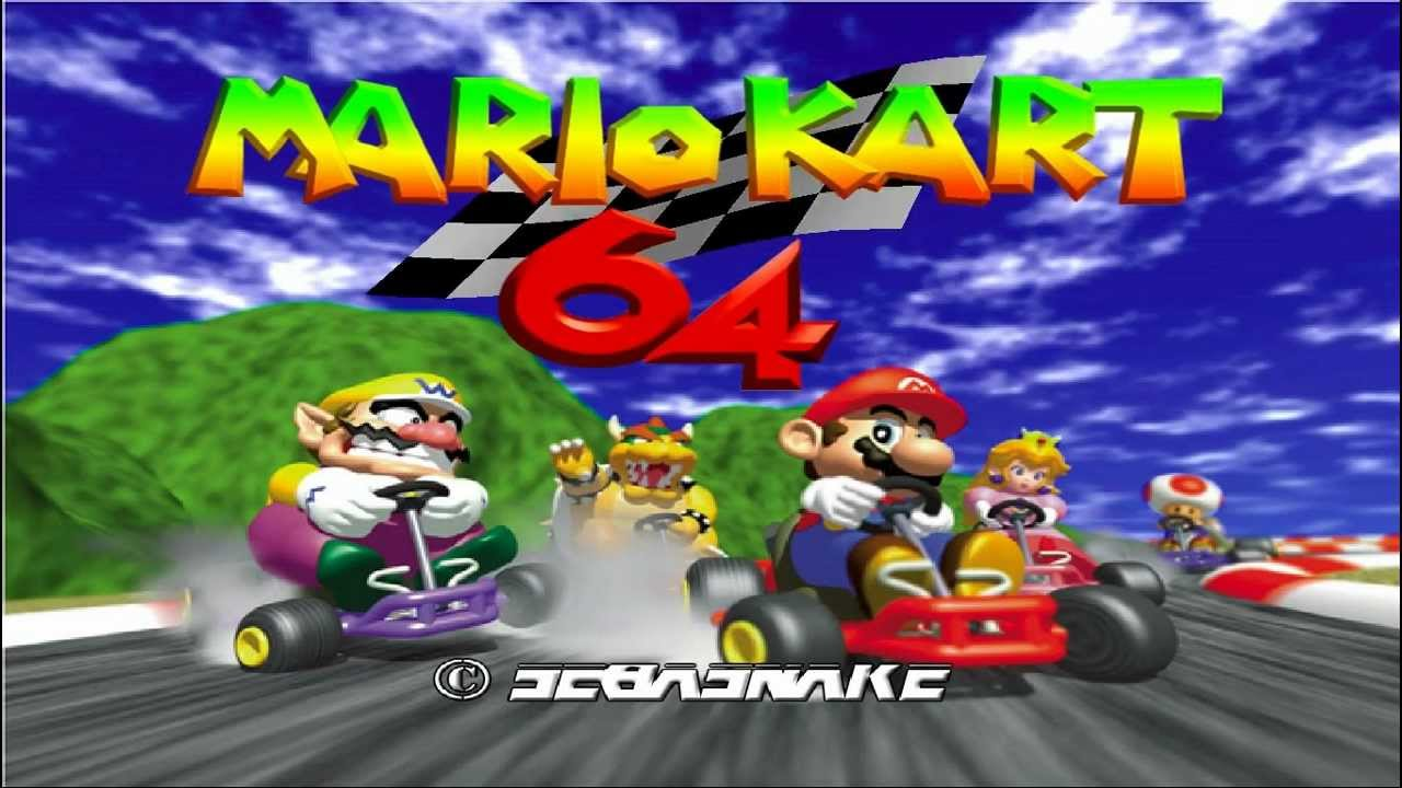 Mario Kart 64 Intro Hi-res ULTIMATE HD Texture Pack - YouTube