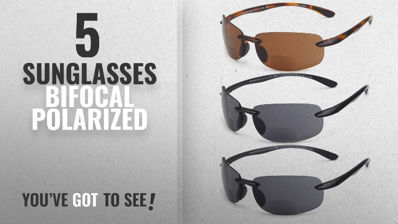 15f3992871a1 Top 10 Sunglasses Bifocal Polarized   Winter 2018    GAMMA RAY 3 ...