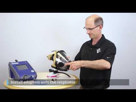 PortaCount Respirator Fit Tester - SCBA Kit