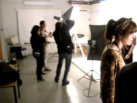 Sessão fotográfica ETIC - Produção