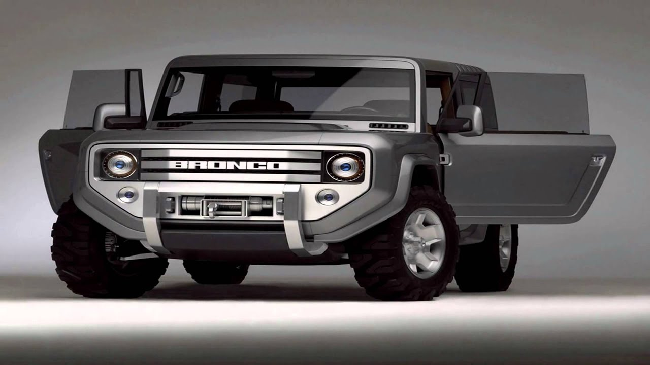 2016 Ford Bronco Price Car Performance Details Youtube