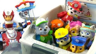 Full Set of Paw Patrol Toys - Paw Patroller and Look Out Station - Unboxing & Review