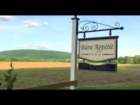 barn-appetit-wedding-venue-drone-video-milton-pennsylvania