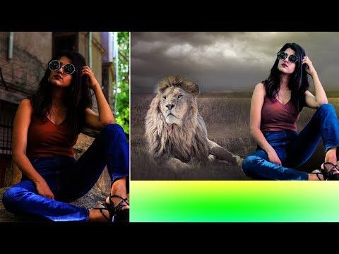 adobe photoshop cc tutorial 2019 | background remove & camera raw filter editing 2019 thumbnail