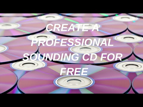 Burn A Professional Sounding CD for Free