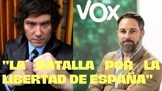 💥JAVIER MILEI con VOX en VIVA 21 Agenda España