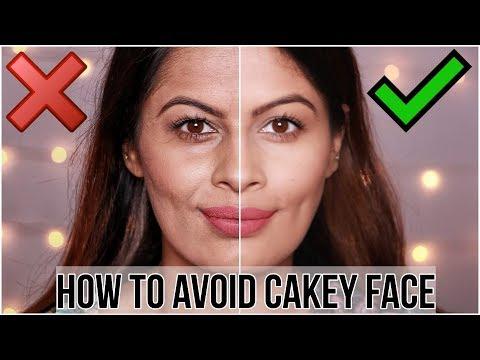 फाउंडेशन को पपड़ीदार होने से कैसे बचाएँ   How to Avoid Cakey Foundation Face   Flawless Base  Kavya K