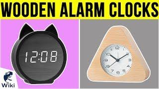 10 Best Wooden Alarm Clocks 2019