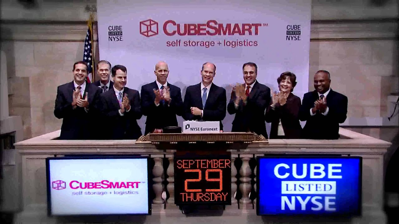 29 September 2011 Reit Cubesmart Debuts New Name And