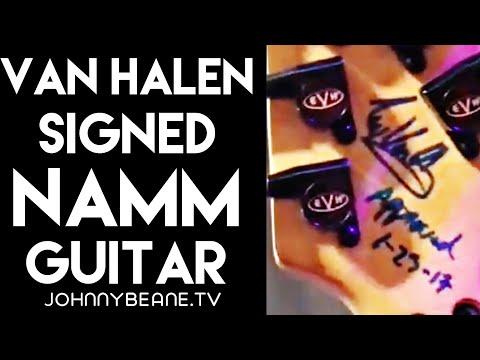 Edward Van Halen Signed EVH Wolfgang Guitar NAMM 2020