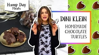 Homemade Chocolate Turtles | Hump Day Meals - Dini Klein