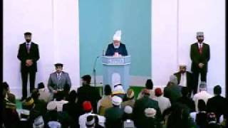 Friday Sermon: 23rd October 2009 - Part 6/6 (Urdu)