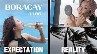 완.전.⚠️현실주의⚠️ 보라카이 여행 vlog(비추 후…