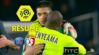 Paris saint-germain - losc (2-1)  - résumé - (paris - losc) / 2016-17