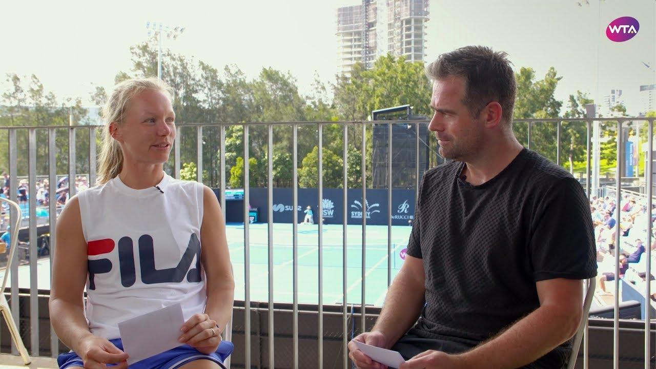 WTA Timeout: Coaches Q&A with Kiki Bertens and Raemon Sluiter