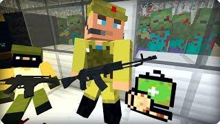 Он долго не протянет [ЧАСТЬ 31] Зомби апокалипсис в майнкрафт! - (Minecraft - Сериал)