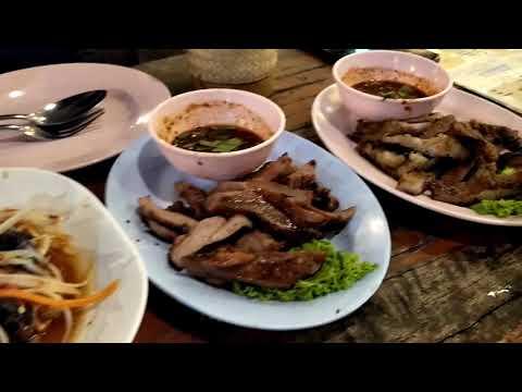 อาหารอร่อยๆ ร้านอาหารอีสาน 101 ทางเข้าเมืองเอก รังสิต