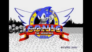 Sonic Hack Longplay - Sonic Black & White