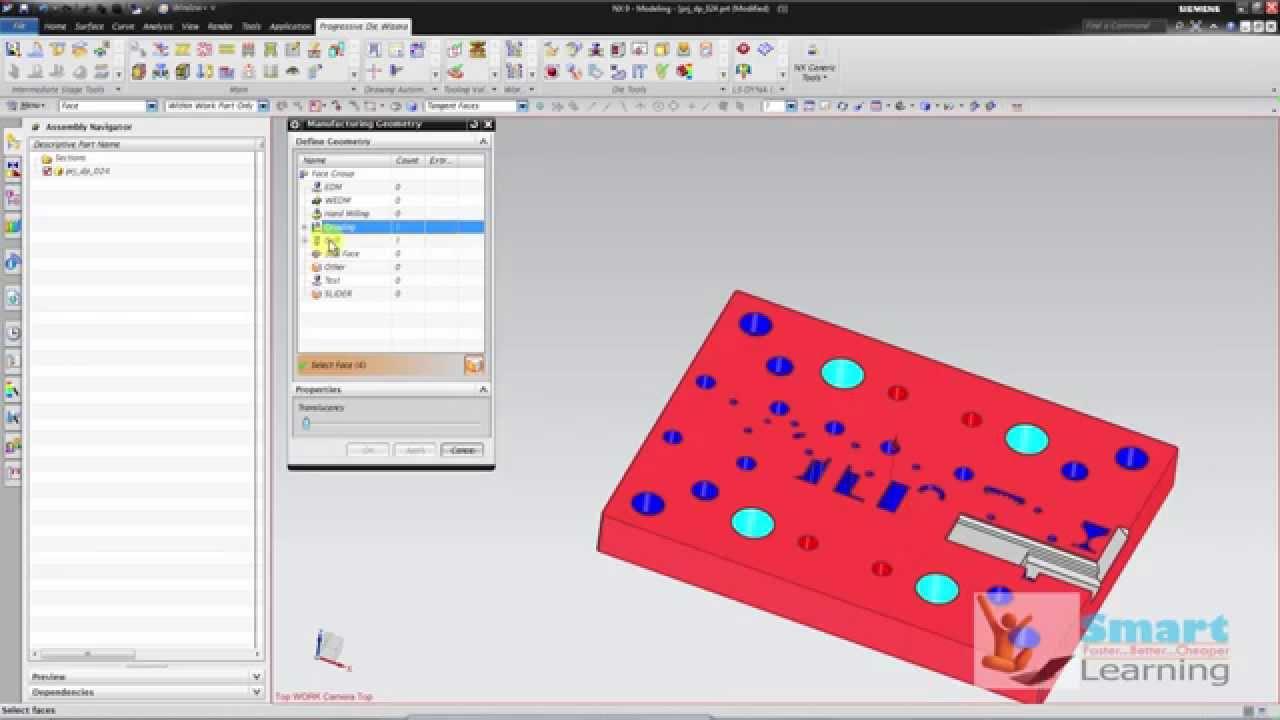 Nx10 Progressive Die Design Metal Forming Sheet Metal