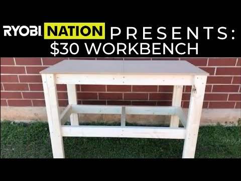 DIY $30 Workbench