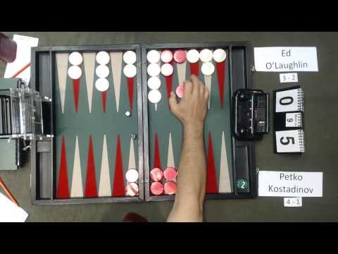 Carolina Backgammon R6 Ed OLaughlin v Petko Kostadinov