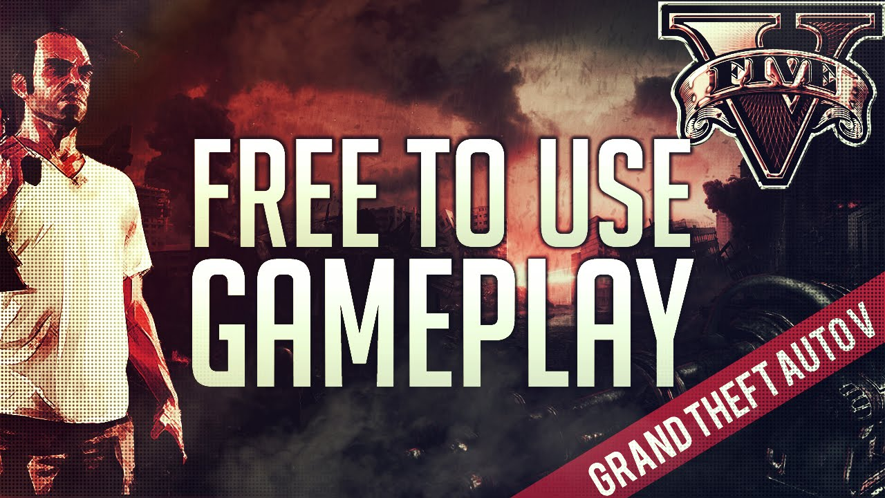 Free To Use Gameplay  Gta V Royalty Free P Fps