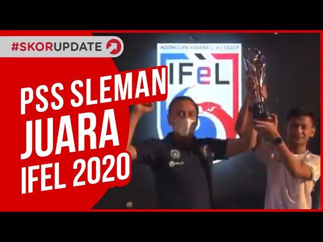 RIZKY FAIDAN BAWA PSS SLEMAN JUARA IFEL 2020