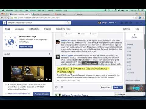 How to shorten your url when posting on Facebook or Twitter
