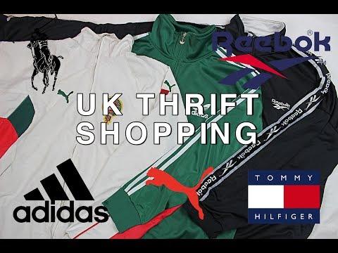 UK THRIFT SHOPPING (Tommy Hilfiger, Adidas, Ralph Lauren)