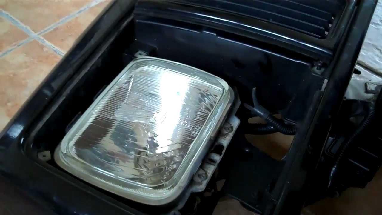 How to upgrade headlights in a Jeep Cherokee - YouTube