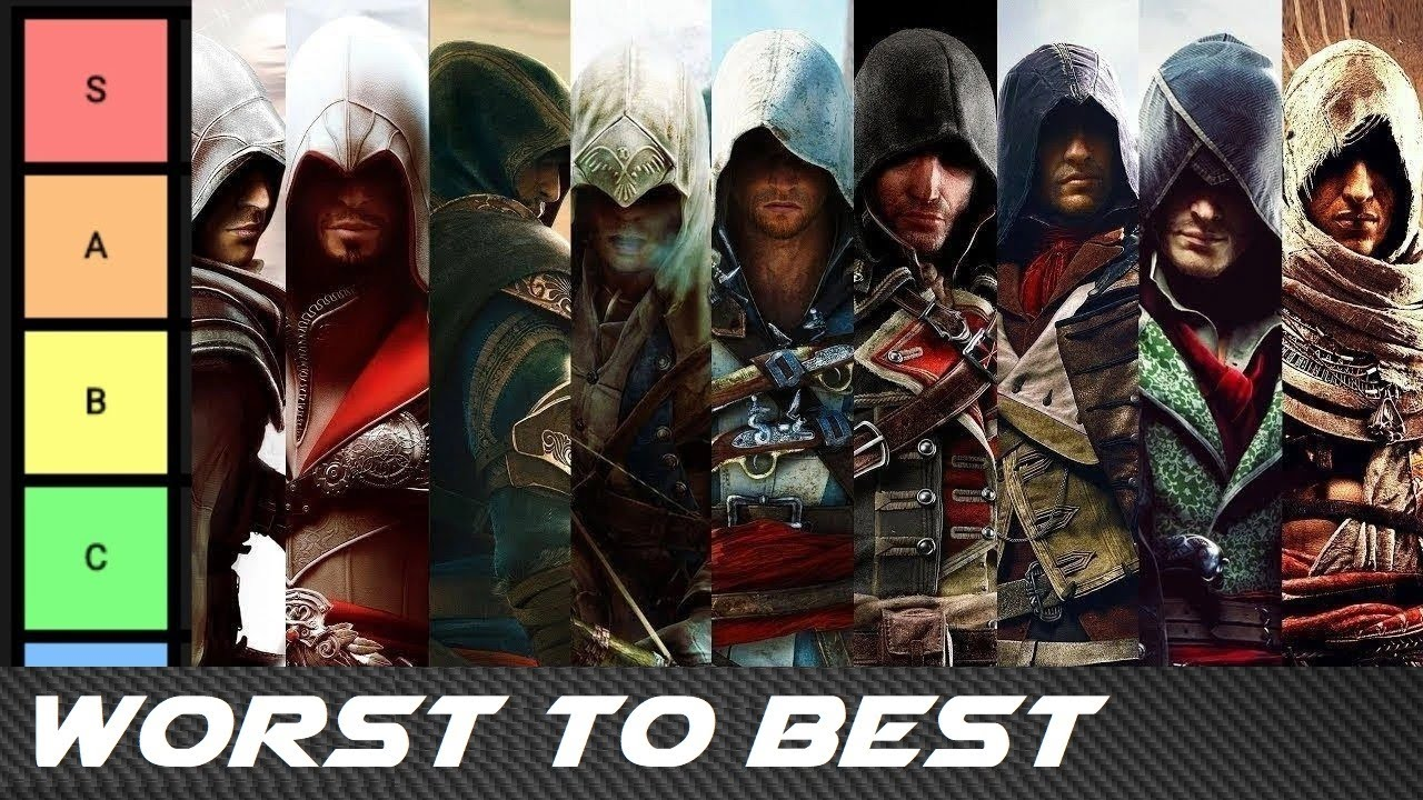 Worst To Best Assassin S Creed Games Tier List Youtube