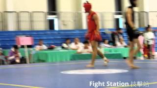 102年全運會 散打男子 56 KG決賽 陳亞煊 紅vs 何皓仰 黑 (Fight Station 技擊站)