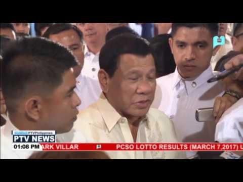 Pangulong Duterte, muling nagbabala sa masasangkot sa anumang uri ng katiwalian